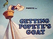Getting Popeye's Goat Cartoon Picture