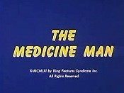 The Medicine Man Cartoon Picture