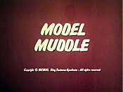 Model Muddle Cartoon Picture