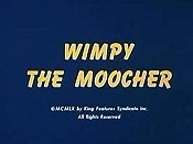Wimpy The Moocher