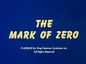 The Mark Of Zero