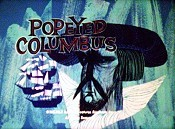 Popeyed Columbus Free Cartoon Picture