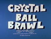 Crystal Ball Brawl Free Cartoon Picture
