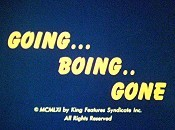 Going... Boing.. Gone Cartoon Picture