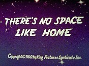 There's No Space Like Home Cartoon Character Picture