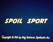 Spoil Sport Free Cartoon Picture