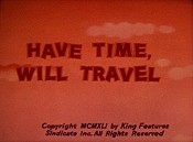 Have Time, Will Travel Cartoon Picture