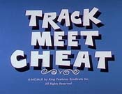 Track Meet Cheat The Cartoon Pictures