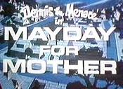 Mayday For Mother Cartoon Picture