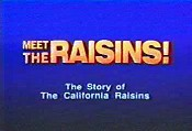 Meet The Raisins! Pictures To Cartoon