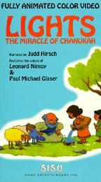 Lights: The Miracle Of Chanukah Cartoon Picture