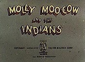 Molly Moo-Cow And The Indians Free Cartoon Picture