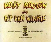 Molly Moo-Cow And Rip Van Winkle The Cartoon Pictures