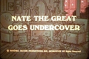 Nate The Great Goes Undercover Cartoon Picture