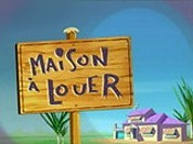 Maison � Louer (House For Rent) Cartoon Pictures