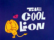 The Cool Lion Free Cartoon Pictures