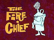 The Fire Chief Cartoon Picture