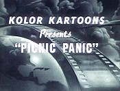 Picnic Panic Picture Of Cartoon