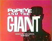 Popeye And The Giant