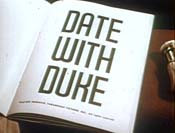 Date With Duke Cartoon Picture