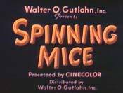 Spinning Mice Picture Into Cartoon