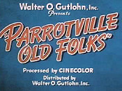 Parrotville Old Folks Cartoon Picture