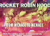 Rocket Robin Versus The Gladiator Robot Cartoon Character Picture
