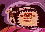 Robin Versus The Robot Knight Cartoon Picture
