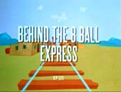 Behind The 8 Ball Express Cartoon Picture