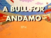 A Bull For Andamo Free Cartoon Picture