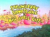 Strawberry Shortcake In Big Apple City Cartoon Picture