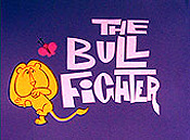The Bull Fighter Cartoon Picture