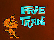 Free Trade Picture Of Cartoon