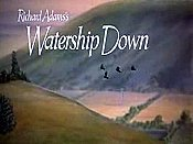 Watership Down Picture Of The Cartoon
