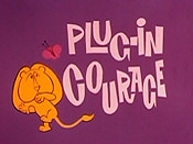 Plug-In Courage Cartoon Picture