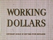Working Dollars Cartoon Picture