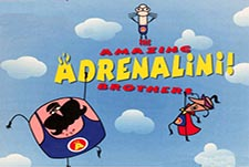 The Amazing Adrenalini Brothers! Episode Guide Logo