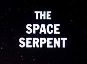 The Space Serpent Cartoon Picture