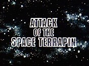 Attack Of The Space Terrapin Cartoon Character Picture