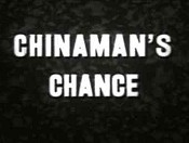 Chinaman's Chance Cartoon Picture