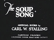 The Soup Song Cartoon Picture