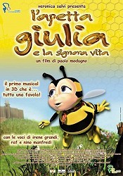 L'apetta Giulia E La Signora Vita (Little Bee Julia And Lady Life) Free Cartoon Pictures