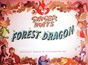 Ginger Nutt's Forest Dragon Picture Into Cartoon