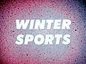 Winter Sports Free Cartoon Picture