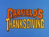 Garfield's Thanksgiving Cartoon Picture