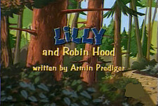 Lilly And Robin Hood Cartoon Picture