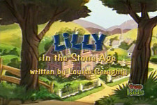 Lilly In The Stone Age Cartoon Picture