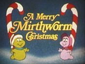 A Merry Mirthworm Christmas Picture Of Cartoon