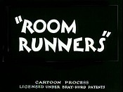 Room Runners Cartoon Picture