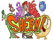 Sherm's Got Germs Cartoon Picture